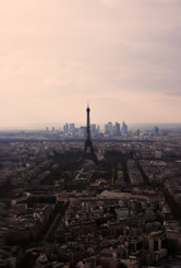 Paris vu du haut de la tour Montparnasse. Photo: PHB/Coopetic