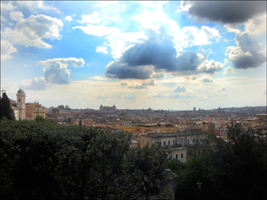 Le ciel au-dessus de Rome. Photo: PHB/Coopetic