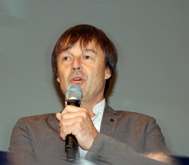 Nicolas Hulot. Photo: Frédéric Hastings