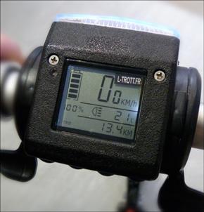 Compteur de trottinette électrique. Photo: PHB/JDC