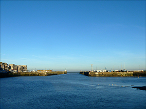 Le bassin du Tréport. Photo: PHB/JDC