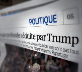 L'édition du Parisien du 24 février. Photo: PHB/JDC