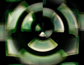 Symbole nucléaire. Illustration: PHB/JDC