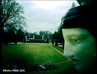 Vue du jardin des Serres d'Auteuil. Photo: PHB/JDC