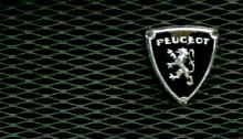 Logo Peugeot sur une calandre. Photo: PHB/JDC