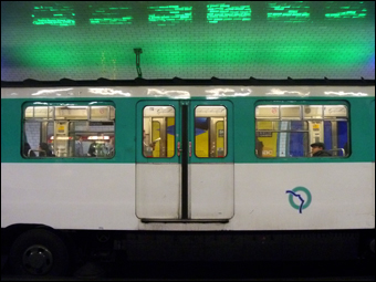 Métro parisien. Photo: PHB/LSDP