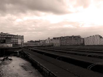 La friche de la Gare de l'Est. Photo: PHB/LSDP